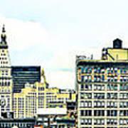 New York City Print by Ken Marsh
