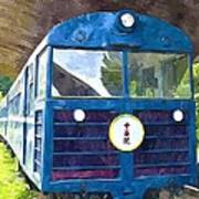 Old Train Art Print
