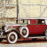 Packard Standard Eight Convertible Art Print