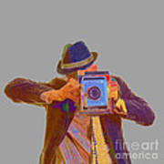 Paparazzi Print by Edward Fielding