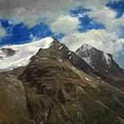 Peaks In The Rockies Art Print