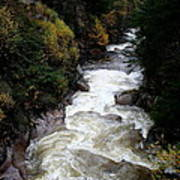 Pemigewasset River White Mountains Art Print