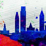 Philadelphia City Skyline Art Print