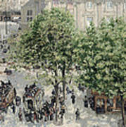Place Du Theatre Francais Art Print