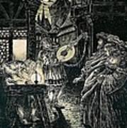 Poster Of The Mastersingers Of Nuremberg  Art Print