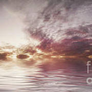 Reflection Of Mauve Skies Art Print