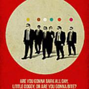 Reservoir Dogs Poster Art Print by Naxart Studio