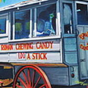 Roman Candy Guy At Jazz Fest Art Print by Terry J Marks Sr