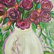 Roses For Friends Art Print