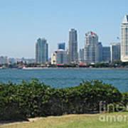 San Diego Viewed From Coronado Island Art Print