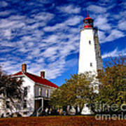 Sandy Hook Light Art Print