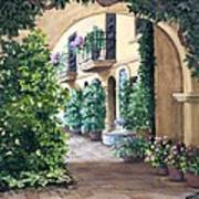 Sedona Archway Art Print