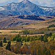 Sierras Mountains Art Print