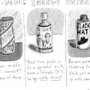 Site-specific Energy Drinks A Series Of Energy Art Print