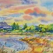 South Platt Water Color Art Print