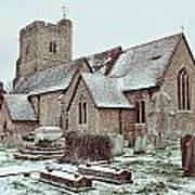 St Mary And All Saints Boxley Art Print