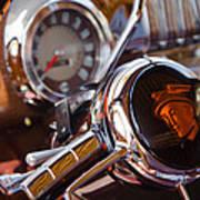 Steering Mercury Art Print