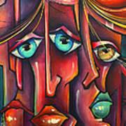 ' Stringers ' Art Print