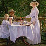 Summer Afternoon Tea Art Print
