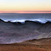 Sunrise At Haleakala Crater, Maui Art Print