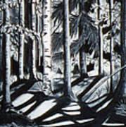 Take The Maine Path Art Print