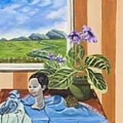 The Blue Jay Speaks Art Print by Susan Culver