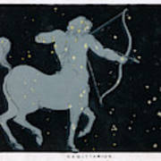 The Constellation Of  Sagittarius Art Print