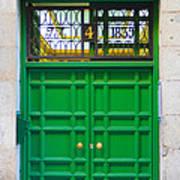 The Doors Of Madrid Spain Xii Art Print