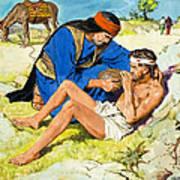 The Good Samaritan  Art Print