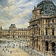 The Louvre Museum Art Print