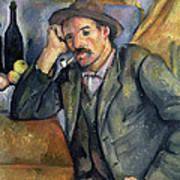 The Smoker Print by Paul Cezanne