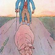 To Market To Market Art Print by Leonard Leslie Brooke
