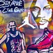 Truly Michael Jordan  Art Print by Tony B Conscious