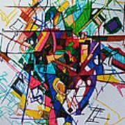 Tzadik 1 Art Print