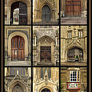Uk Doors Art Print by Christo Christov