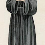 Ursuline Nun Devoted To Saint Ursula Art Print