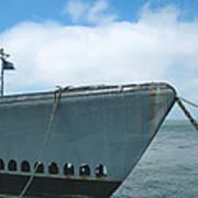 Uss Pampanito - Vintage Submarine Art Print