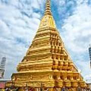 Wat Phra Kaeo Temple - Bangkok Art Print