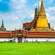 Wat Phra Kaew - Bangkok Art Print