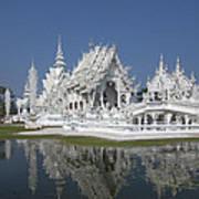 Wat Rong Khun Ubosot Dthcr0002 Art Print