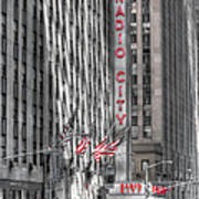 0007 Radio City Music Hall Art Print