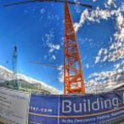001 Building Buffalo  Art Print