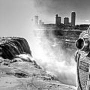 0014a Niagara Falls Winter Wonderland Series Art Print