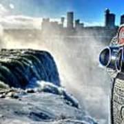 0016 Niagara Falls Winter Wonderland Series Art Print