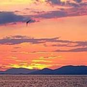 0016233 - Patras Sunset Art Print