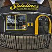 002 Sidelines Sports Bar And Grill Art Print