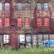 0037 Abandoned Warehouse Art Print