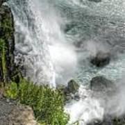 004 Niagara Falls Misty Blue Series Art Print