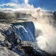 004 Niagara Falls Winter Wonderland Series Art Print