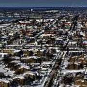 0042 After The Nov 2014 Storm Buffalo Ny Art Print